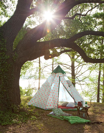 Camp Decor - Stylish Outdoor Camping Gear - Country Living