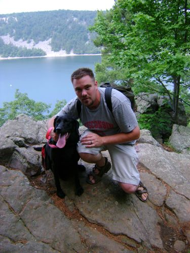 Bailey and Jason at Devil's Lake